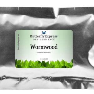 4oz Dry Herb Pack of Wormwood from Butterfly Express